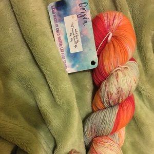 COPY - Inked Sheep Fibers Sock Yarn - Origin